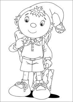 noddy coloring pages 5 online coloringcoloring bookcleverdesign drawingschildrendrawing - Child Drawing Book