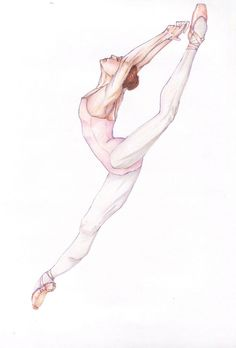 Watercolor Paint Ideas Of Ballet Dancers Drawing 1000 Ideas About Dancer Drawing On Pinterest Ballerina Drawing
