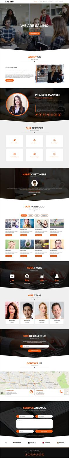 Salimo is a wonderful 4in1 @Adobe #Muse template for creative #onepage business agencies website download now➩ https://themeforest.net/item/salimo-creative-one-page-muse-template/19519073?ref=Datasata