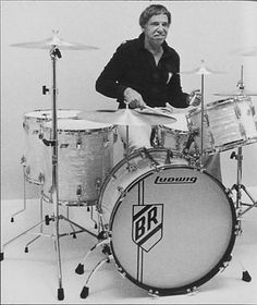 Buddy Rich, from his Ludwig era.
