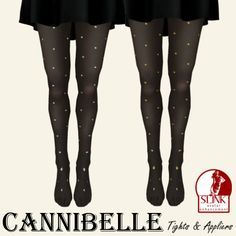 ~Cannibelle~ Studded Tights | Flickr - Photo Sharing!