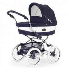 Bebecar Stylo Class+ Classic Combination Travel System Pram + Raincover & Kit, Oxford Blue - - Travel Systems - Bebecar Stylo Class EL Combination Travel System Pram - The magestic Stylo Class El is most definitely built for walking Bebe Car, Safety Kit, Vintage Pram, Prams And Pushchairs, Oxford Blue, Baby Prams, Changing Bag, Premature Baby, Travel System