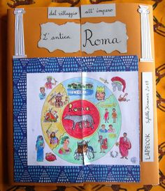 """Laboratorio """"Gli antichi Romani"""" / Workshop Altes Rom, Ancient Rome +Lapbook – my art diary 2 Art Diary, Ancient Rome, Educational Activities, Storytelling, Workshop, My Arts, Student, Homeschooling, Geography"""