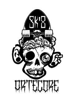 stencil t-shirt by Júlio Cezar, via Behance
