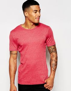 ASOS Muscle Fit T-Shirt In Stretch Rib €13,83