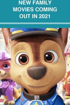 From wonderful remakes of classic movies or exciting sequels, here are some family flicks we can't wait to see in 2021. Movies Coming Soon, Coming Out, New Family Movies, Classic Movies, Fun Activities, Teddy Bear, Animals, Fictional Characters, Going Out