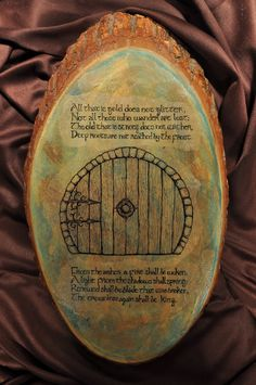 Lord of the Rings wall piece