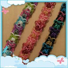 "New ""Farfalle"" Rainbow Loom Bracelet/How To Tutorial"