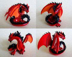 Big Red Dragon - Auction by DragonsAndBeasties.deviantart.com on @deviantART