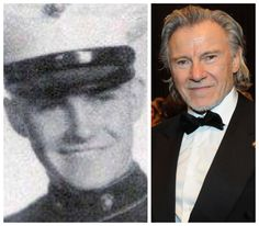 "Harvey Keitel (born May 13, 1939) is an American actor. Like Gene Hackman, he left home at age 16 to join the Marines, ending up in Lebanon with Operation Blue Bat in 1958. In this 2003 interview, he said, ""For me the Marine Corps was a spiritual journey. It's not about war. Our duty is to protect those who do not have the means to protect themselves."""