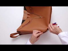LOEWE Hammock Laced Bag - YouTube