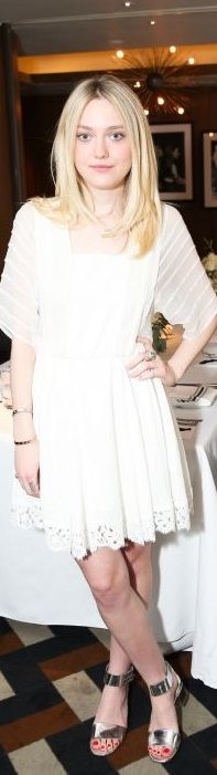 Dakota Fanning – Vogue Celebrates AGL Collection in New York City