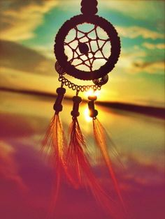 We love dream catchers!  Never stop Dreaming