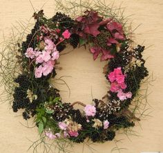 late summer wreath