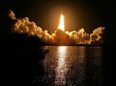 Cape Canaveral- A night launch of the space shuttle was one of the most awe-inspiring things I have ever experienced.