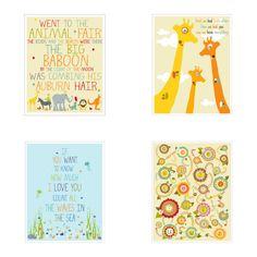 Whimsical Nursery Nursery Art Baby Nursery