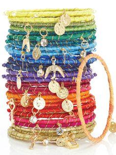 Rainbow Bracelets Woman's World