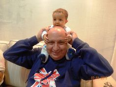 Diário do Felipinho: Vovô em casa