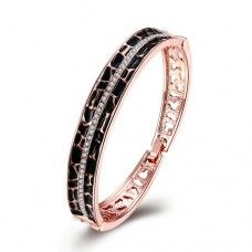 Rose Gold Bangles Bracelet Z031
