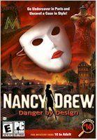 Nancy Drew - Danger By Design, 2006 Parents' Choice Award Gold Award - Software #VideoGames