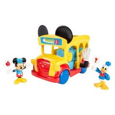 Fisher-Price® Disney Mickey Mouse Clubhouse Slidin' School Bus $15 Target and walmart Mickey Mouse Clubhouse Toys, Mickey Mouse Train, Mickey Mouse Toys, Toddler Boy Toys, Toddler Girl Gifts, Toys For Boys, Baby Toys, Kids Toys, Toddler Christmas Gifts