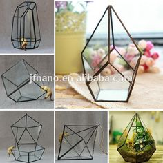 Source Wholesale hot sale clear geometric glass terrarium on m.alibaba.com