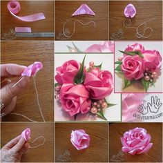 Rosas de cintas