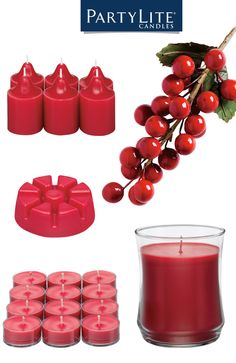 Reminisce about holidays past while creating special new memories with classic Crimson Berry fragrance, the sparkling scent of red berries mingled with spices and caramel. Find yours at PartyLite.com