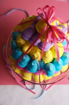 Peeps Cake....I never can get enough of these things ...no matter what time of year