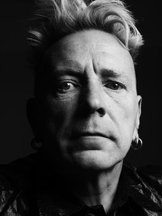 John Lydon (1956) also known by his former stage name Johnny Rotten, is an English singer, songwriter, and musician, best known as the lead singer of the English punk rock band, the Sex Pistols. Photo by Hedi Slimane