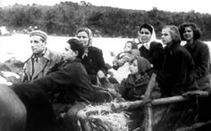 Papp family leaving Hungary and crossing over into Austria during the Hungarian Revolution 1956. Julie Jakobovics is the blonde haired girl on the right. 14 years old. https://www.youtube.com/watch?v=fSYLG80OaiY
