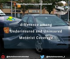 What is Underinsured Motorist Coverage? What is Uninsured Motorist Coverage? What are difference among Underinsured and Uninsured Motorist Coverage? Low Car Insurance, Insurance Quotes, Car Quotes, Auto News