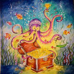 Prontinho  #oceanoperdido #lostocean #johannabasford #fabercastell #cores #desenho #draw #art #custom #brasil #jardimsecreto #jardimsecretoinspire #jardimsecretotop #secretgarden #florestaencantada