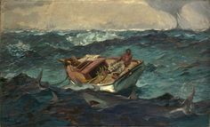 The Gulf Stream, Winslow Homer | Oil on canvas
