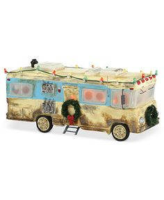 Department 56 Snow Village National Lampoon's Christmas Vacation Cousin Eddie's RV Collectible Figurine