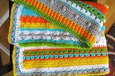 Ravelry: Happy Baby/Toddler Afghan pattern by Lori Bennett Kramer