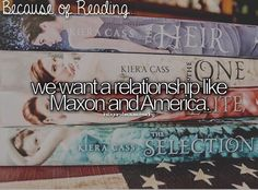 Because of reading The Selection. Fandoms Unite, Book Memes, Book Quotes, Good Books, Books To Read, Amazing Books, The Selection Book, Maxon Schreave, The Heirs