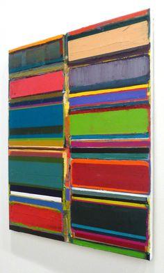 Tegene Kunbi, Final Hour 2015, Oil on canvas