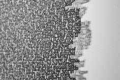 Paper Cut Messages by Annie Vought