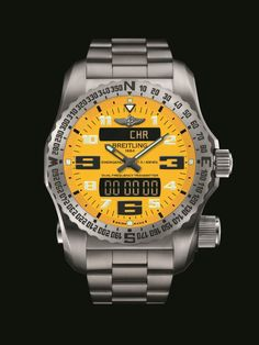 Breitling Emergency II Cobra Yellow Dial