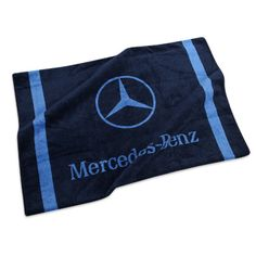 The perfect Navy Beach Towel to keep you dry and in style