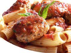 Thibeault's Table: Pork, garlic and Basil Meatballs