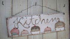 ♥♥♥♥♥romantisches Küchenschild ♥♥♥♥♥ von Villa Kruschtelbunt auf DaWanda.com