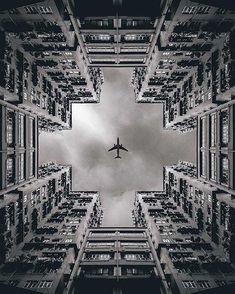 15 des plus belles photos symétriques urbaines trouvées sur Instagram