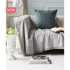 Ριχτάρι Τριθέσιου καναπέ  Muare 04 180X300 by Kentia Living Room, House Design, Room, Throw Pillows, Home, Throw Blanket, Bed, Pillows