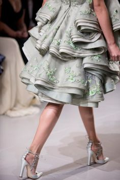 Details | Zac Posen Spring Summer 2014. Repinned by www.lecastingparisien.com