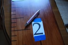 over sized growth chart tutorial...awesome!!!