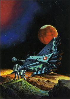 Alex Schomburg, Winston Sci-Fi Series  