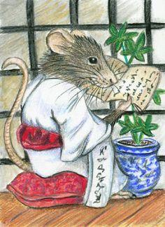 Zen Rat by bigcatdesigns.deviantart.com