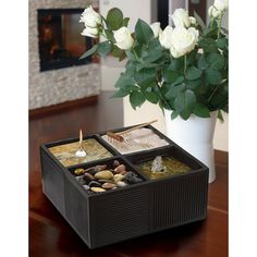 Kenroy Home Tranquila Indoor Table Fountain - Indoor Tabletop Fountains at Simply Fountains